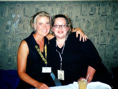 Marika & Music Director Lisa Roberts